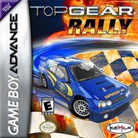 Portada oficial de Top Gear Rally para Game Boy Advance