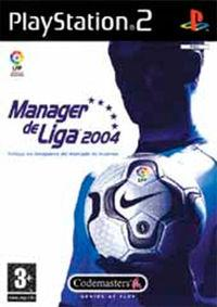 Portada oficial de Manager de Liga 2004 para PS2