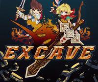 Portada oficial de Excave eShop para Nintendo 3DS