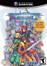Portada oficial de Phantasy Star Online I & II Plus para GameCube