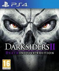 Portada oficial de Darksiders II: Deathinitive Edition para PS4