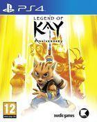 Portada oficial de de Legend of Kay Anniversary para PS4