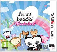 Portada oficial de Luv Me Buddies Wonderland para Nintendo 3DS