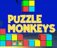 Portada oficial de Puzzle Monkeys eShop para Wii U