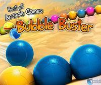 Portada oficial de Best of Arcade Games - Bubble Buster eShop para Nintendo 3DS