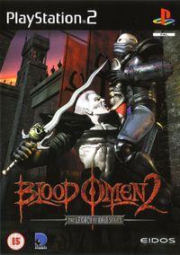 Portada oficial de Blood Omen 2 para PS2