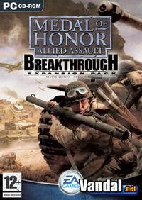 Portada oficial de Medal of Honor Allied Assault Breakthrough para PC
