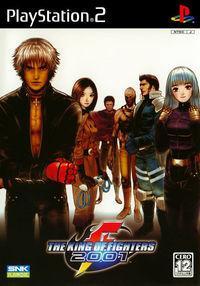 Portada oficial de King of Fighters 2001 para PS2