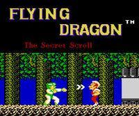 Portada oficial de Flying Dragon: The Secret Scroll CV para Wii U