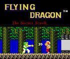 Portada oficial de de Flying Dragon: The Secret Scroll CV para Wii U