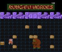 Portada oficial de Kung-Fu Heroes CV para Wii U