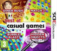 Portada oficial de Best of Casual Games eShop para Nintendo 3DS