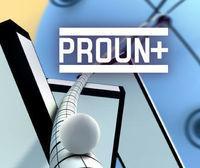 Portada oficial de Proun+ eShop para Nintendo 3DS