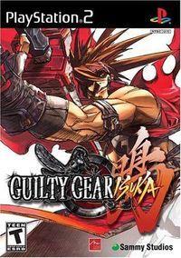 Portada oficial de Guilty Gear Isuka para PS2