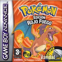 Portada oficial de Pokémon Verde Hoja & Rojo Fuego para Game Boy Advance