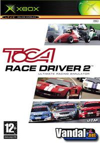 Portada oficial de Toca Race Driver 2: The Ultimate Racing Simulator para Xbox