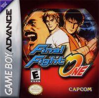 Portada oficial de Final Fight One para Game Boy Advance