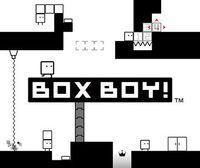 Portada oficial de BOXBOY! eShop para Nintendo 3DS