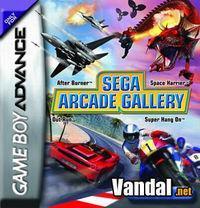 Portada oficial de Sega Arcade Gallery para Game Boy Advance