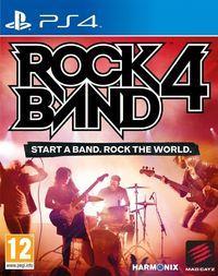 Portada oficial de Rock Band 4 para PS4