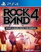 Portada oficial de de Rock Band 4 para PS4