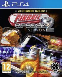 Portada oficial de Pinball Arcade Season 2 para PS4
