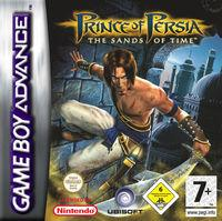 Portada oficial de Prince of Persia: The Sands of Time para Game Boy Advance