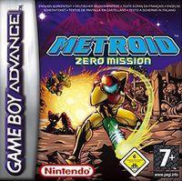 Portada oficial de Metroid: Zero Mission CV para Wii U