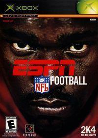 Portada oficial de ESPN NFL 2K4 para Xbox