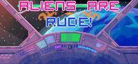 Portada oficial de Aliens Are Rude! para PC