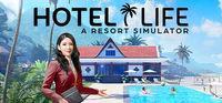 Portada oficial de Hotel Life: A Resort Simulator para PC