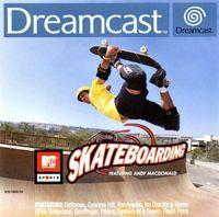 Portada oficial de Mtv Sports: Skateboarding para Dreamcast