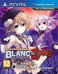 Portada oficial de MegaTagmension Blanc + Neptune VS Zombies para PSVITA