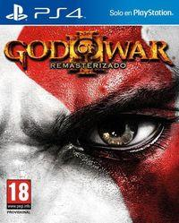 Portada oficial de God of War III Remasterizado para PS4