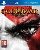 Portada oficial de de God of War III Remasterizado para PS4