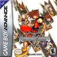 Portada oficial de Kingdom Hearts: Chain of Memories para Game Boy Advance