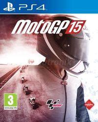 Portada oficial de MotoGP 15 para PS4