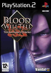 Portada oficial de Blood Will Tell para PS2