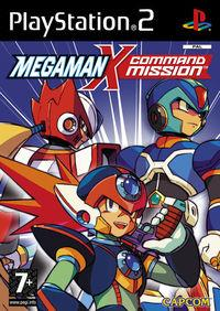 Portada oficial de Megaman X Command Mission para PS2