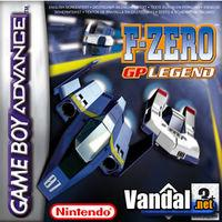 Portada oficial de F-Zero: GP Legend para Game Boy Advance