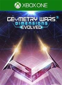 Portada oficial de Geometry Wars 3: Dimensions Evolved para Xbox One