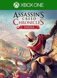 Portada oficial de Assassin's Creed Chronicles: India para Xbox One