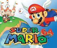 Portada oficial de Super Mario 64 CV para Wii U