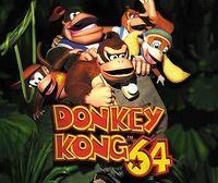 Portada oficial de Donkey Kong 64 CV para Wii U