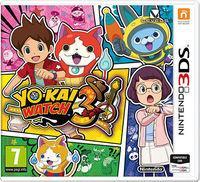 Portada oficial de Yo-Kai Watch 3 para Nintendo 3DS