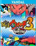 Portada oficial de de Yo-Kai Watch 3 para Nintendo 3DS