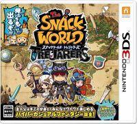 Portada oficial de The Snack World para Nintendo 3DS