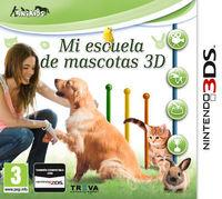 Portada oficial de Mi escuela de mascotas 3D eShop para Nintendo 3DS