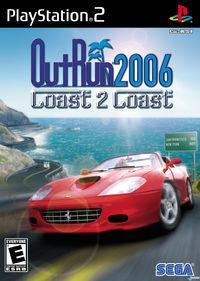 Portada oficial de Outrun 2006 Coast 2 Coast para PS2