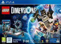 Portada oficial de LEGO Dimensions para PS4